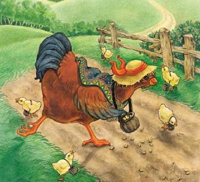 The Tale of the Little Red Hen Animation and Free Crafts and Activities