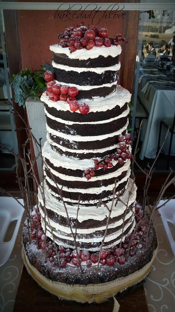 black forest wedding cake 38 woodland wedding cakes that will complete your 11863