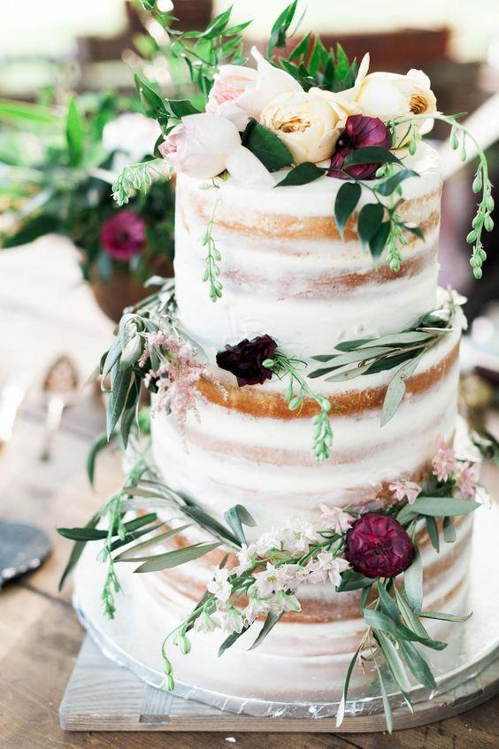 boho wedding cakes 38 woodland wedding cakes that will complete your 12084