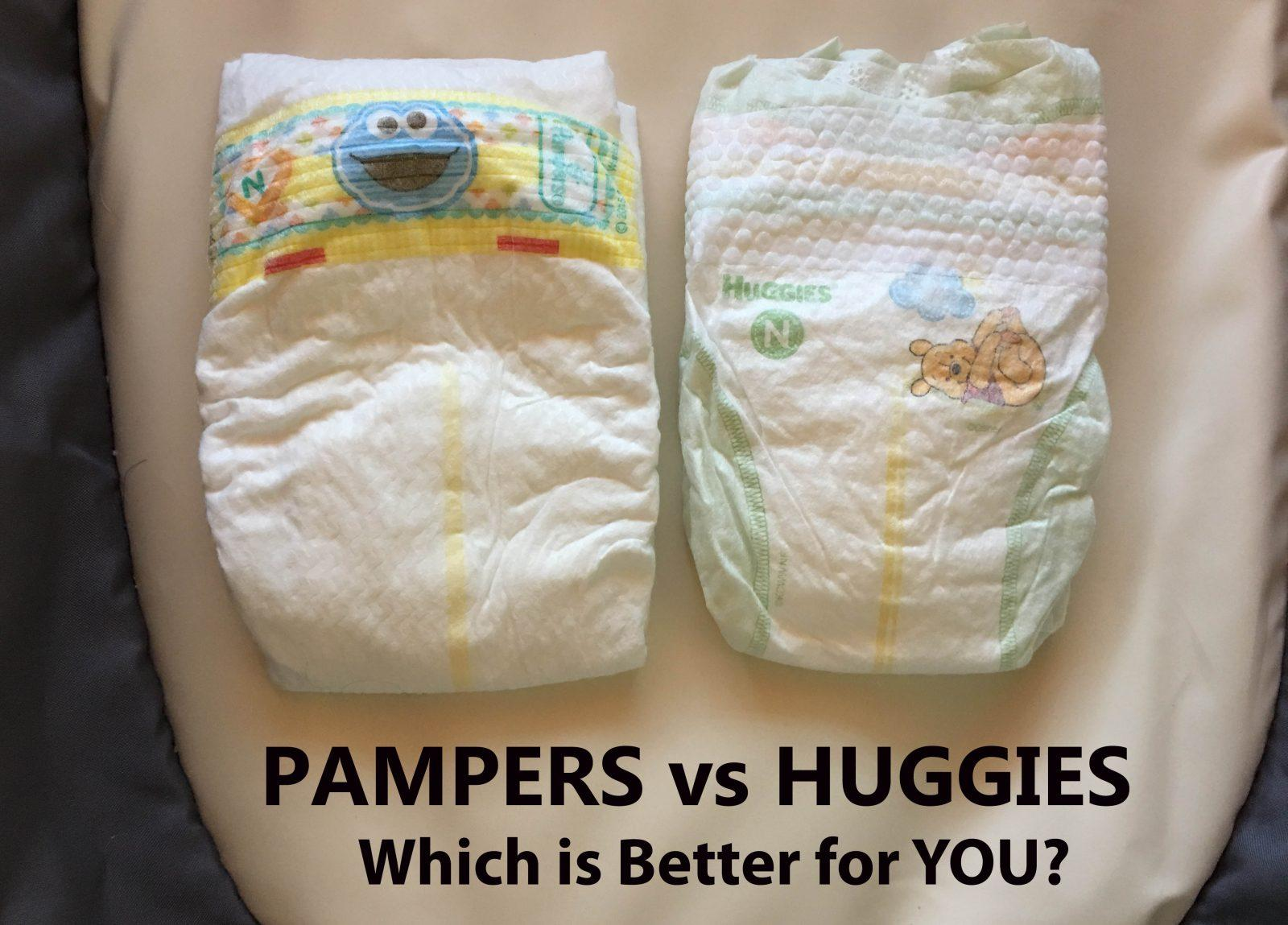 pampers vs huggies which has the By far, the two most popular diaper brands are huggies and pampers in fact, since procter & gamble introduced pampers in 1961 and kimberly-clark entered the marketplace in 1978 with huggies, the two premium brands have remained the top two sellers.