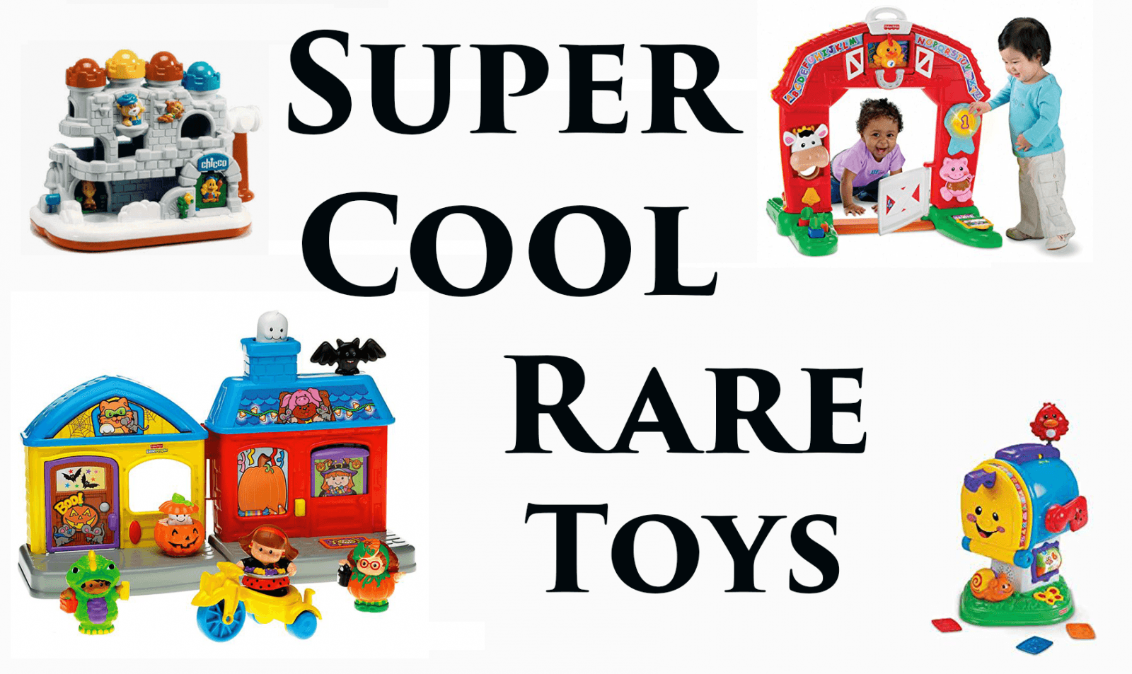 Super Cool Rare Toys - The Series